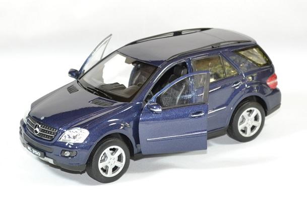 Mercedes benz ml 350 bleu welly 1 24 autominiature01 2