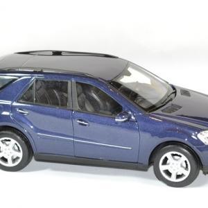 Mercedes benz ml 350 bleu welly 1 24 autominiature01 4