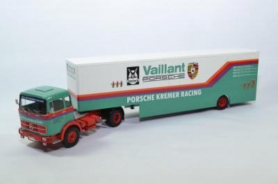 Mercedes-Benz LPS 1632 1981 Vaillant Porsche Kremer Racing Transport
