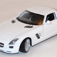 Mercedes benz sls amg 1 24 welly autominiature01 com wel24025wwe 1