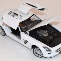Mercedes benz sls amg 1 24 welly autominiature01 com wel24025wwe 2