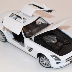 Mercedes benz sls amg 1 24 welly autominiature01 com wel24025wwe 2