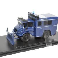 Mercedes benz unimog 406 maintien ordre bleu perfex 729 autominiature01 1