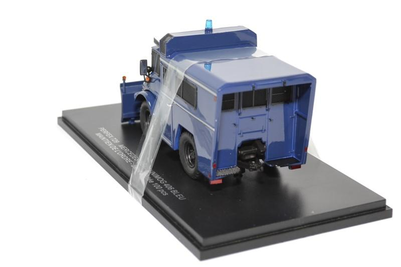 Mercedes benz unimog 406 maintien ordre bleu perfex 729 autominiature01 2
