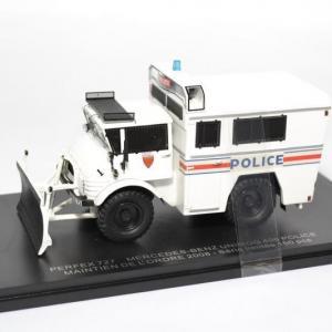 Mercedes-Benz unimog 406 maintien de l'ordre 2008 Police nationale