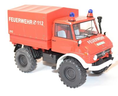 Mercedes-Benz unimog 406 pick-up 1/18 premium X