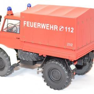 Mercedes benz unimog 406 pompier 1 18 miniature premium autominiature01 com 3