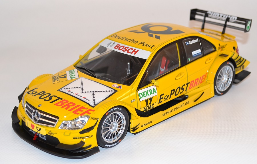Mercedes class c 17 coulthard 2011 norev 1 18 autominiature01 com nor183581 1