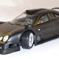 Mercedes clk gtr noire maisto 1 18 autominiature01 com 1