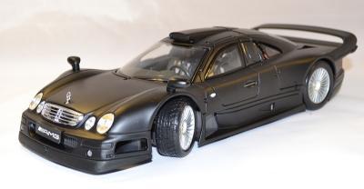 Mercedes  clk GTR noir mat street