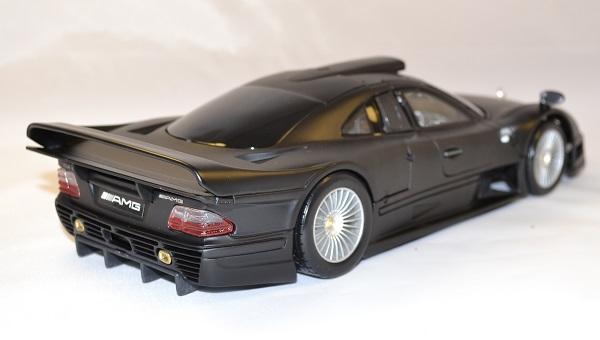 Mercedes clk gtr noire maisto 1 18 autominiature01 com 3