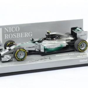 Mecedes AMG Petronas#6 N. Rosberg 2014 F1 Hybrid GP Abu Dhabi