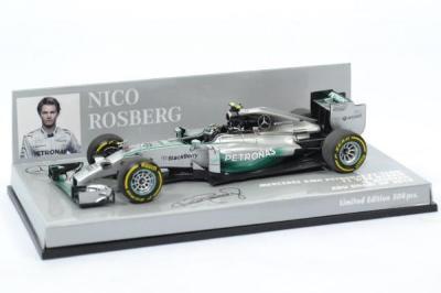 Mecedes AMG Petronas N. Rosberg 2014 F1 Hybrid GP Abu Dhabi