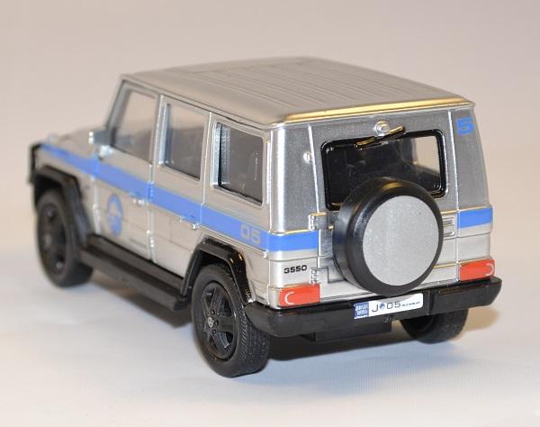 Mercedes g550 jurassic world jada toys 1 43 autominiature01 com 2