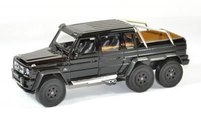 Mercedes amg G 63 6x6 noir