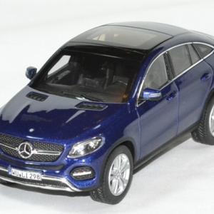 Mercedes GL E coupé 2015 bleu métallisé