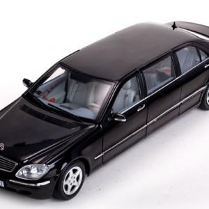 Mercedes s pullman 1 18 noire 2000 sunstar autominiature01 1