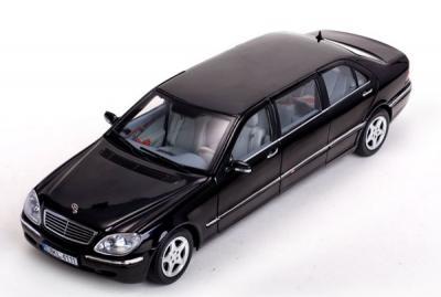 Mercedes-Benz classe S pullman 2000 noire limousine
