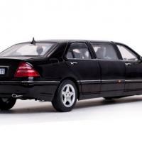 Mercedes s pullman 1 18 noire 2000 sunstar autominiature01 2