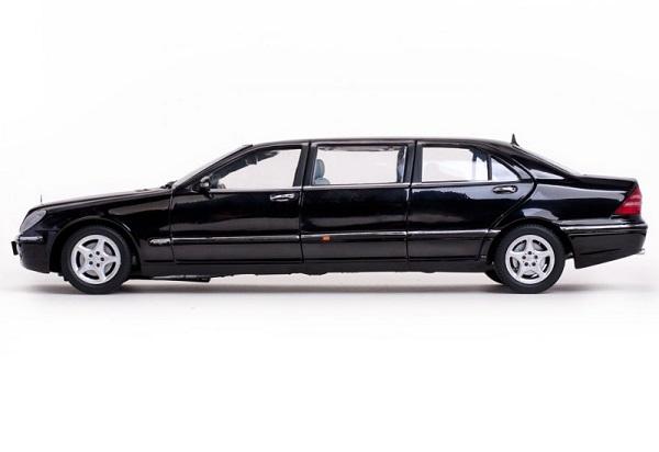 Mercedes s pullman 1 18 noire 2000 sunstar autominiature01 3