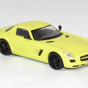 Mercedes sls amg jaune 2010 solido 1 43 autominiature01 com 3