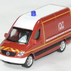 Mercedes sprinter pompier 1 64 norev autominiature01 1