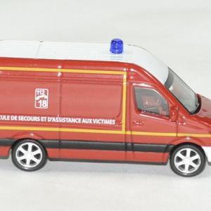 Mercedes sprinter pompier 1 64 norev autominiature01 3