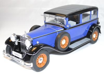 Mercedes 1928 type Nurburg 460/460k bleu