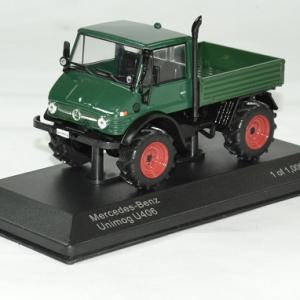 Mercedes unimog 406 1 43 vert whitebox autominiature01 1
