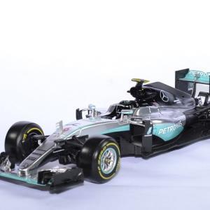 Mercedes W07 #6 N. Rosberg champion du monde 2016