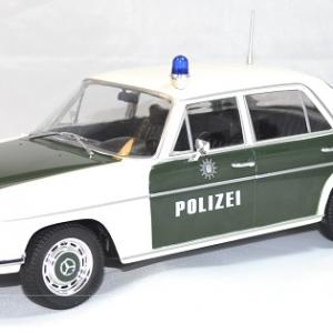 Mercedes w115 220 police 1 18 autominiature01 1