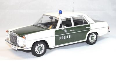 Mercedes w115 e220 police 1973 mcg 1/18