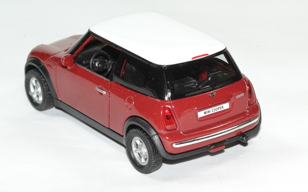 mini cooper rouge miniature welly 1 32 wel49766r. Black Bedroom Furniture Sets. Home Design Ideas