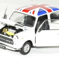 Mini cooper 1300 blanc 1 24 welly autominiature01 1