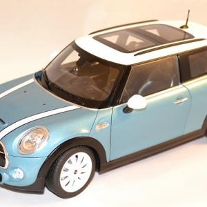Mini cooper s 2015 bleu norev 1 18 autominiature01 1