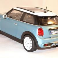 Mini cooper s 2015 bleu norev 1 18 autominiature01 2