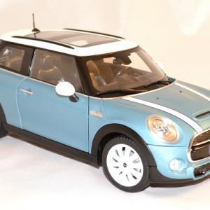 Mini cooper s 2015 bleu norev 1 18 autominiature01 3