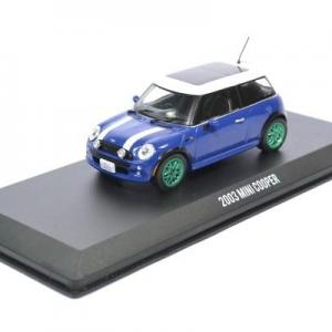 Mini cooper s italian job film greenlight 1 43 autominiature01 86546grw 1