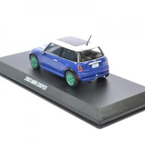Mini cooper s italian job film greenlight 1 43 autominiature01 86546grw 2
