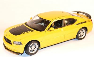 Dodge charger Daytona R/T jaune 1/18 welly wel18003ge