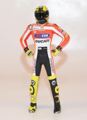 figurine valentino rossi 2011 debout #46 minichamps 1/12