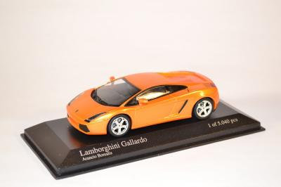 Lamborghini Gallardo orange Minichamps au 1-43