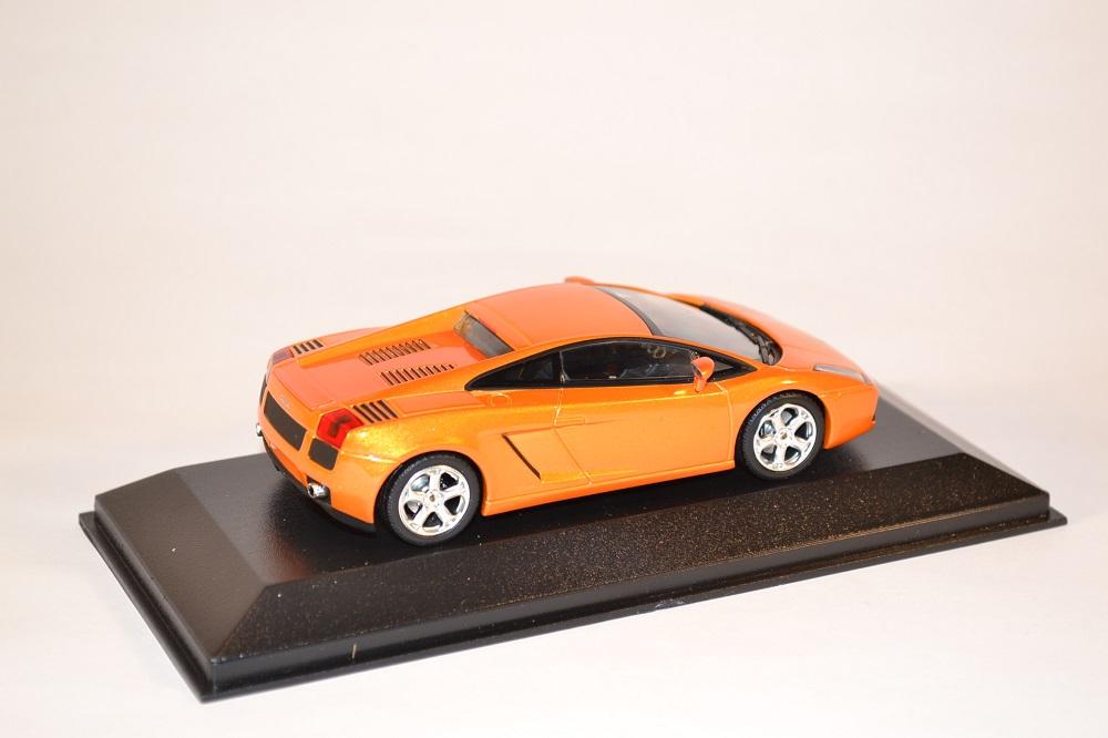 lamborghini gallardo orange miniature minichamps au 1 43. Black Bedroom Furniture Sets. Home Design Ideas