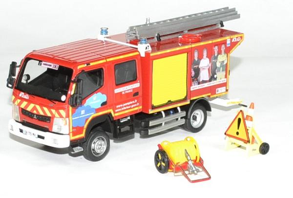 Mitsubishi fuso canter pompier gallin tdf 1 43 alerte autominiature01 1