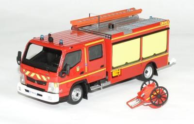 Mitsubishi Fuso Canter Gimaex FPTL Pompier Sdis 72 Sarthe