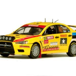 Mitsubishi Lancer evo X Rallye GB 2010 #40