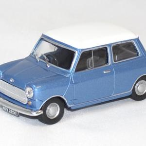 Morris mini cooper S bleu 1967 solido 1/43