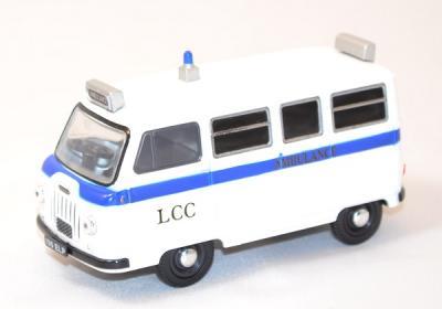 Morris minibus J2 Bristol ambulance
