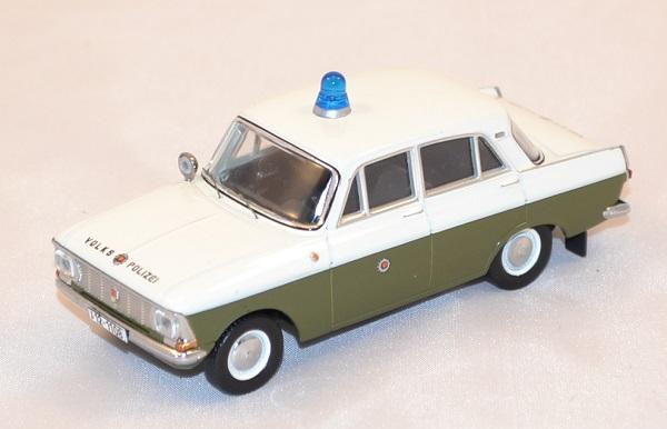 Moskwitsch 412 popolo polizia polizia DDR ANNO DI COSTRUZIONE 1972 1:43 ist MODELS CCC 094