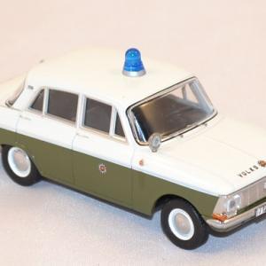 Moskwitch 412 police 1 43 miniature ixo ist ccc094 autominiature01 com 3